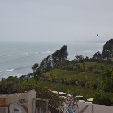 Pacific Ocean viewpoint